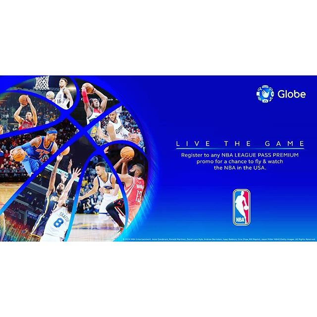 Like NBA??? Get a chance to FLY out to USA & watch your favorite NBA players live: http://bit.ly/GlobePHNBAraffle! ;) #GlobePHNBA 🏻