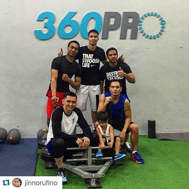 Got their workout in yesterday !!!🏻🏻️ #thisisspartaph #spartanresolution #360pro