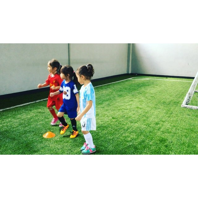 Sparta Football Academy for kids is on-going! Watch these 3-year olds learn how to follow instructions from Coach Chols! #spartafootballacademy #football #thisisspartaph
