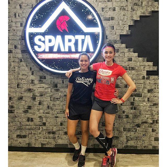 Century Tuna Superbod Finalist @carmela_fernz workin hard and gettin ripped at the Sparta Calisthenics Academy!!! 🏻🏻🏻 We feel she made the right choice.  #webreedchampions #spartanattitude #spartanresolution #thisisspartaph #spartacalisthenicsacademy