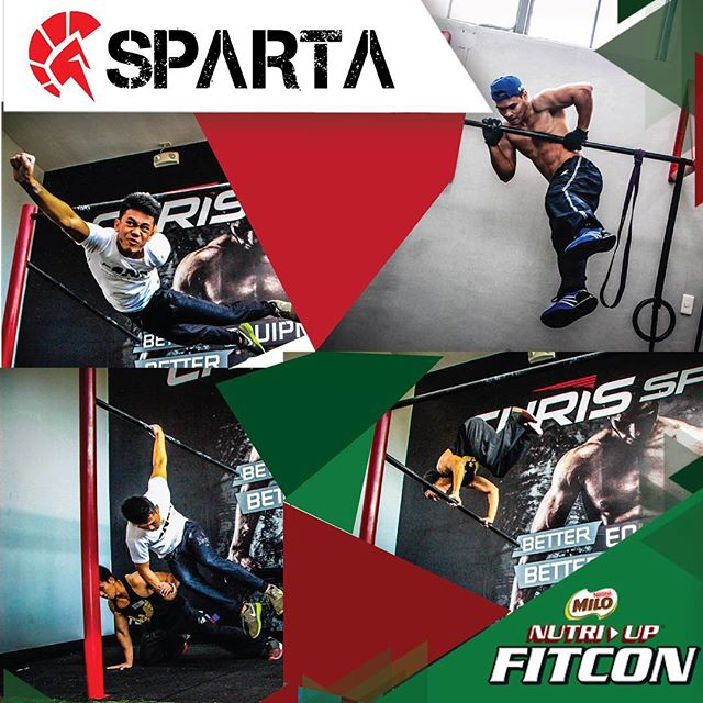 For today only, get 10% off any group class that we offer at the Sparta Calisthenics Academy PLUS a FREE Sparta Lanyard if you do😎 All sign ups are happening now at the @milophilippines #fitcon in Globe circuit.See you here!!! ️🏻😎 #nutriupyourgame #miloph #fitness #thisisspartaph #spartanattitude #spartanresolution
