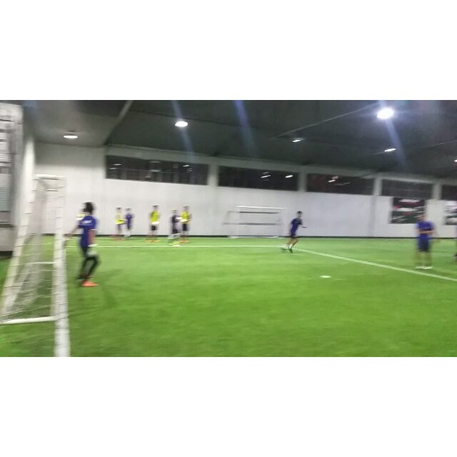 Outside it may be raining, but at Sparta we keep training! #ThisIsSpartaPH #indoorsoccer