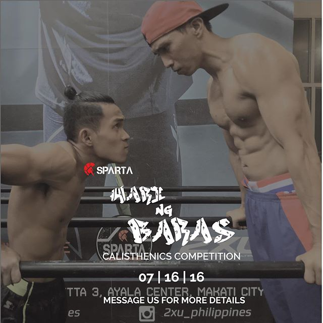 Sparta Hari ng Baras Calisthenics Competition is just a few weeks away!!!! Make sure you've got your tricks and reps all set to go 😎😎😎 Prizes will be given to ALL winners 🏻 126 Pioneer st Mandaluyong#calisthenics #spartacalisthenicsacademy #thisisspartaph
