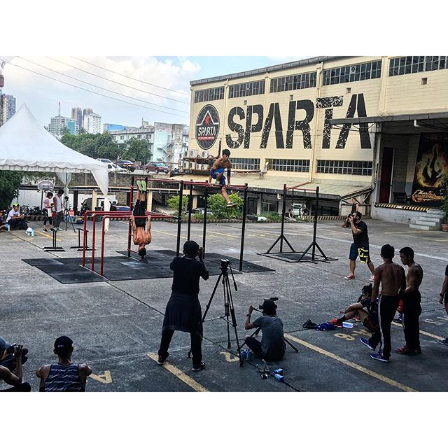 The best of the best..... Only here at Sparta Hari ng Baras!!!!!😎🏻🏻 #haringbaras #spartacalisthenicsacademy #calisthenics #thisisspartaph