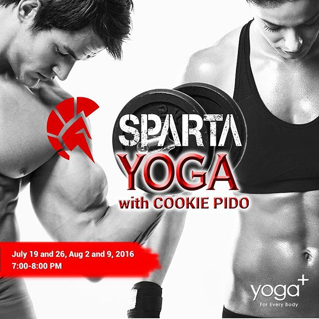 Sparta Yoga is NOW available 🏻 Add balance, flexibility and positive energy into your lives Schedule:All Tuesday's of July, 7-8pm in the Dance studio (2nd Floor) P500/walk inP1800 / 4 sessions #yoga #thisisspartaph #yogaplus