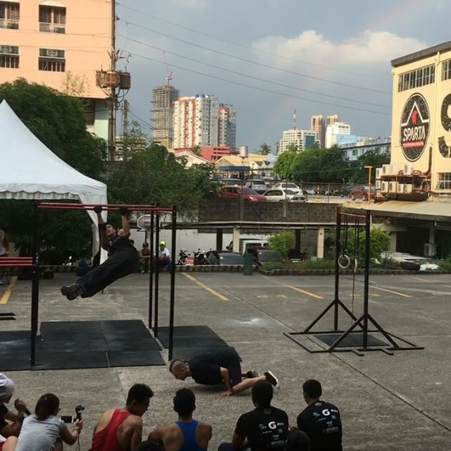 How successful was today's Hari ng Baras event ????🏻 This wouldn't have been possible without the entire calisthenics community, pwsca, and of course, God. We're so happy that today's weather was 100% cooperative and no one got hurt 🏻🏻🏻🏻 Congratulations to all the participants and winners!!!! See you again next year 😎🤓🏻 awoooooooo!!!!!! #thisisspartaph #calisthenics #haringbaras #spartacalisthenicsacademy