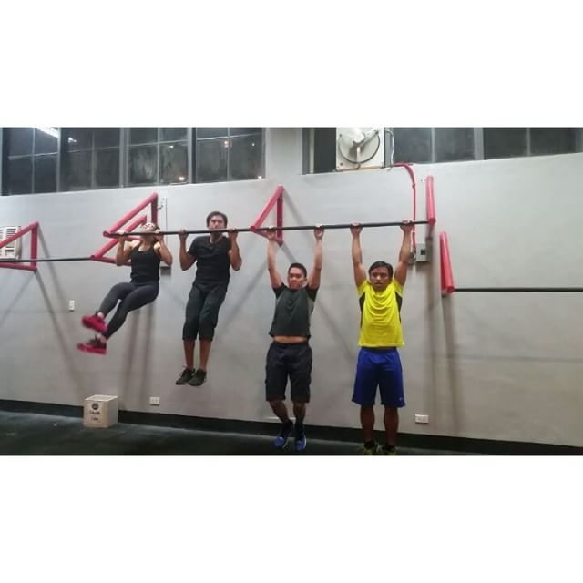 Learn to do pull ups in our Sthenos class at Sparta Calisthenics Academy!  Classes are every weekday 6am, 6pm and 8pm and Saturdays 11am, 3pm and 5pm.  #ThisIsSpartaPH #SpartaCalisthenicsAcademy #PullUps #pulluporshutup