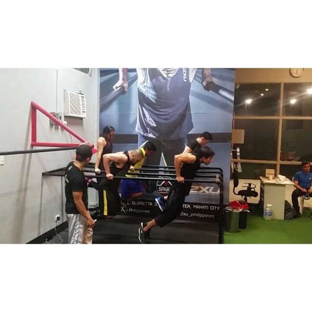 Watch them dip! Some of our strongest athletes from our weekday 6PM Spartan Strength AKA Sthenos class go for their max reps of Dips in 30 seconds. Dips do wonders for the chest and triceps and are considered as the squat for upper body exercises.  #ThisIsSpartaPH #calisthenics #SpartaCalisthenicsAcademy