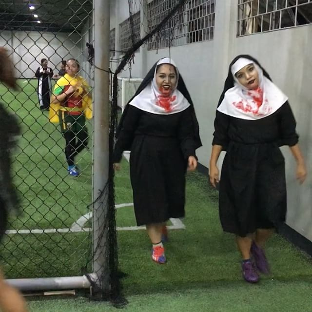 Walking Dead!!!! Halloween Open Play soccer here at Sparta!!!! #OpenPlay #soccer #football #women #fifa #indoorsoccer