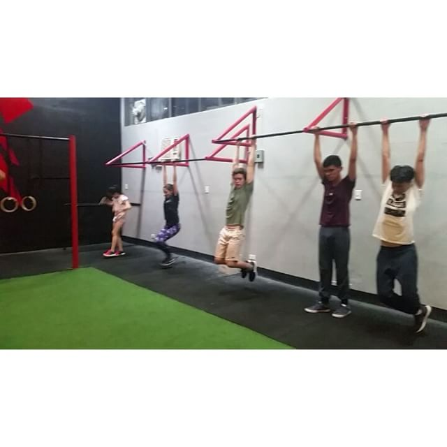 Not your ordinary internship! Our teen interns from Australian International School try our Kalos class at Sparta Calisthenics Academy. Anybody of any age or gender can do calisthenics! What better time to start than right now?  #calisthenics #ThisIsSpartaPH #spartacalisthenicsacademy