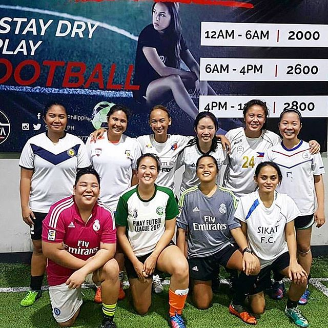 @hiraya.fc has serious training for an upcoming tournament. ️🤗#strongwomen #football #fifa #indoorfootball